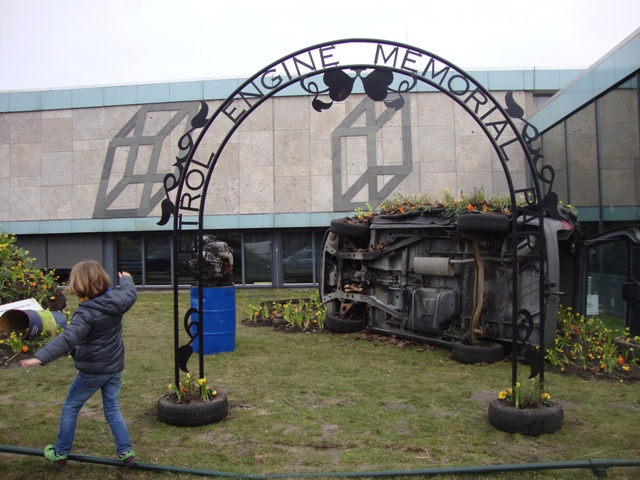 Petrol engine Memorial Park