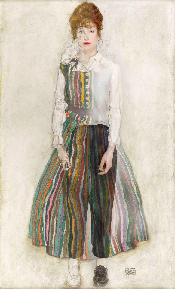 Edith Schiele als muze,een project door Puck Verkade