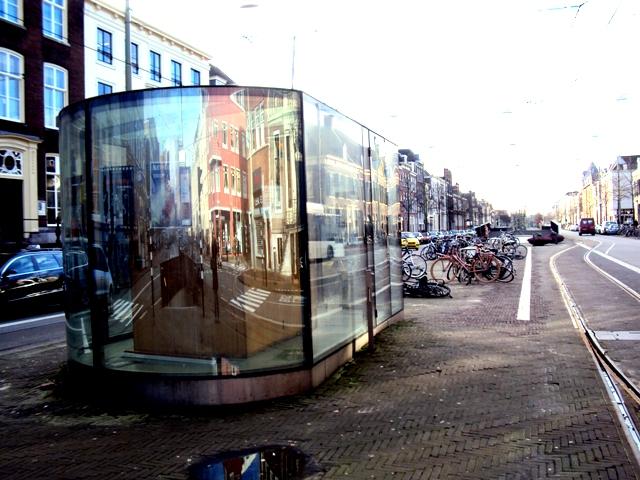 Dan Graham - fietsenstalling Den Haag