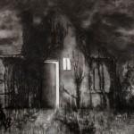 Esther Ijssels - Zonder Titel - Houtskool op papier